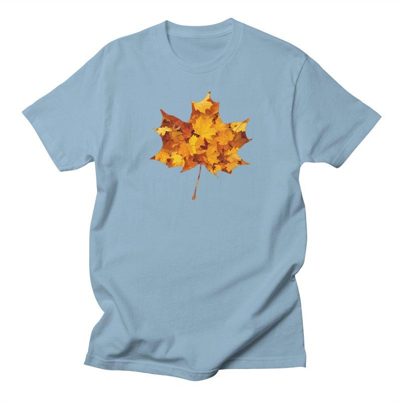 Autumn Colors Men's Regular T-Shirt by Tee Panic T-Shirt Shop by Muzehack