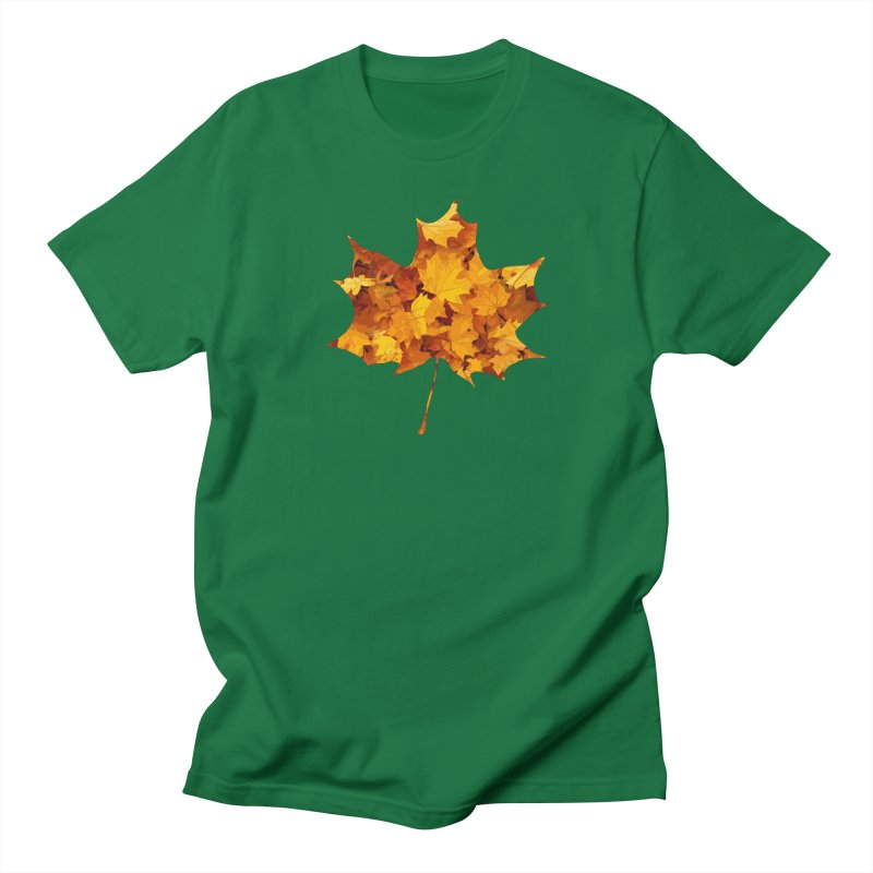 Autumn Colors Women's Regular Unisex T-Shirt by Tee Panic T-Shirt Shop by Muzehack