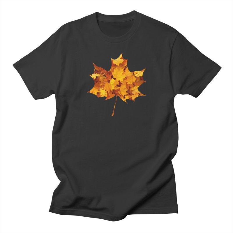 Autumn Colors Women's Regular Unisex T-Shirt by Tee Panic T-Shirt Shop by Muzehack
