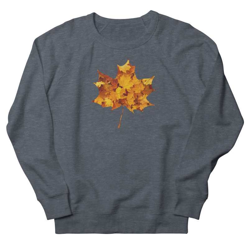 Autumn Colors Women's French Terry Sweatshirt by Tee Panic T-Shirt Shop by Muzehack
