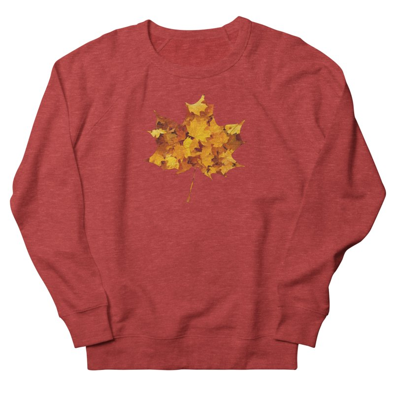 Autumn Colors Men's French Terry Sweatshirt by Tee Panic T-Shirt Shop by Muzehack