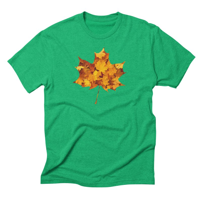 Autumn Colors Men's Triblend T-Shirt by Tee Panic T-Shirt Shop by Muzehack