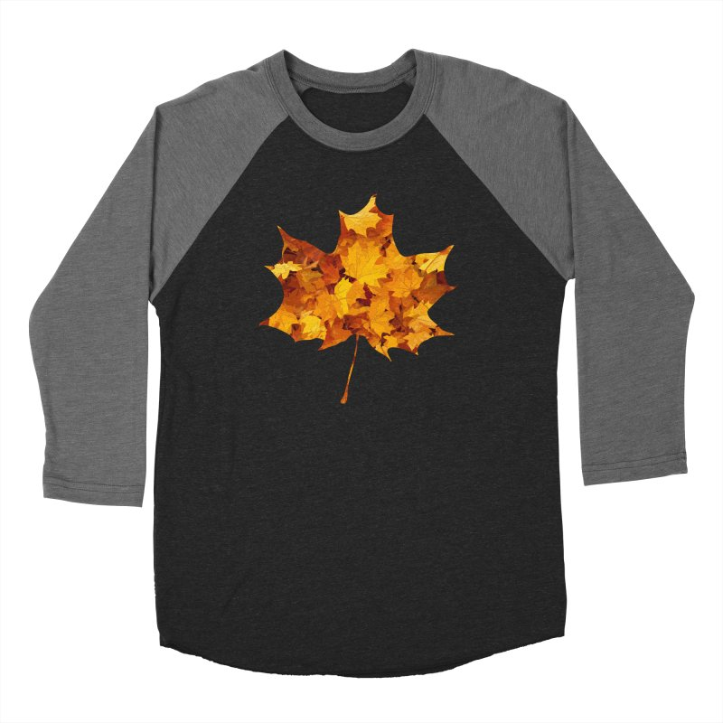 Autumn Colors Women's Baseball Triblend Longsleeve T-Shirt by Tee Panic T-Shirt Shop by Muzehack