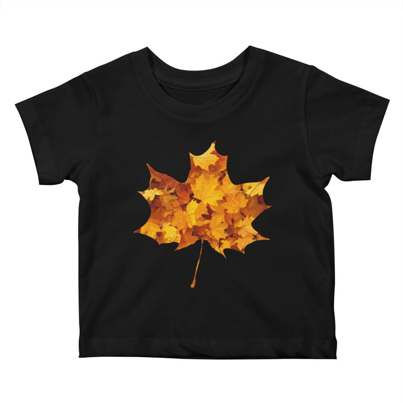 Autumn Colors Kids Baby T-Shirt by Tee Panic T-Shirt Shop by Muzehack