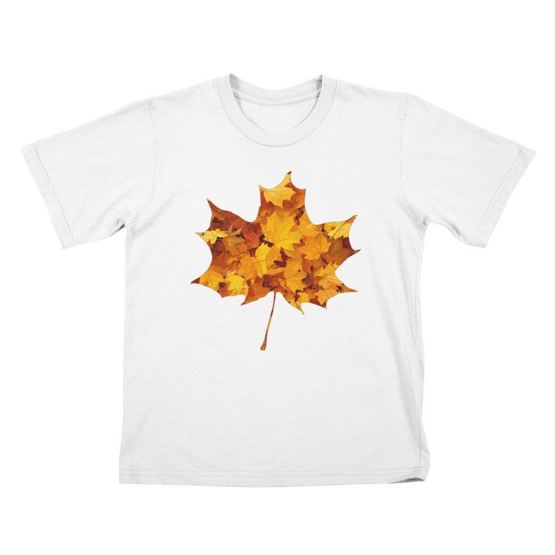 Autumn Colors Kids T-Shirt by Tee Panic T-Shirt Shop by Muzehack
