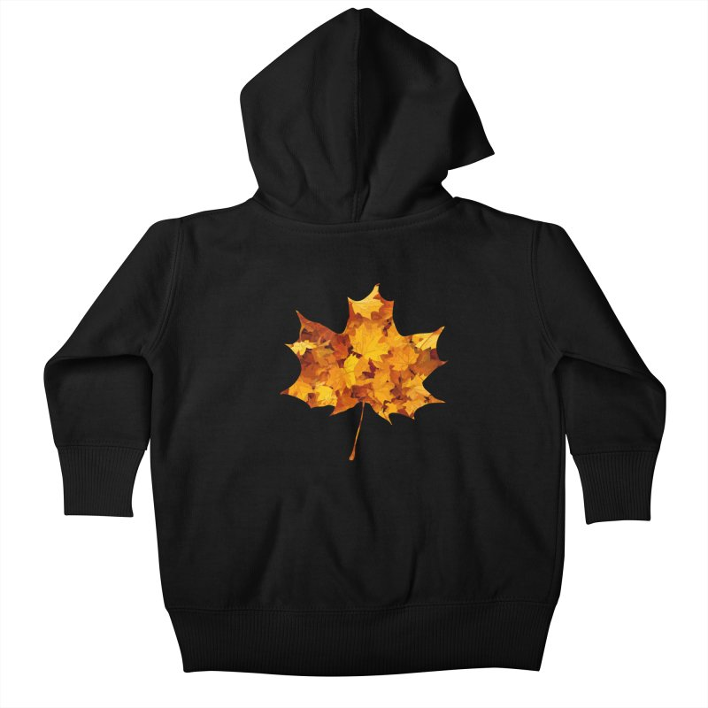 Autumn Colors Kids Baby Zip-Up Hoody by Tee Panic T-Shirt Shop by Muzehack