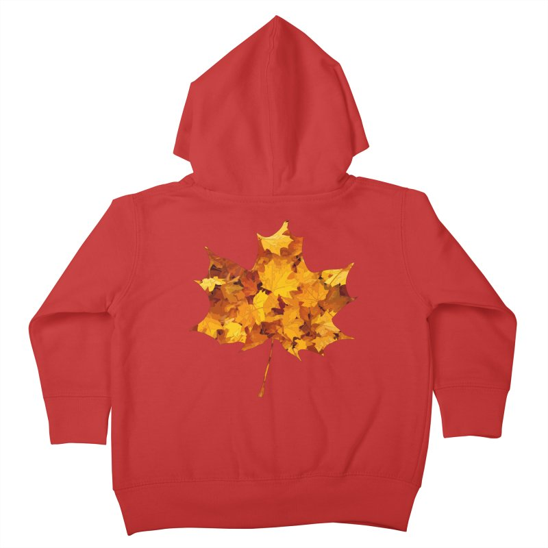 Autumn Colors Kids Toddler Zip-Up Hoody by Tee Panic T-Shirt Shop by Muzehack