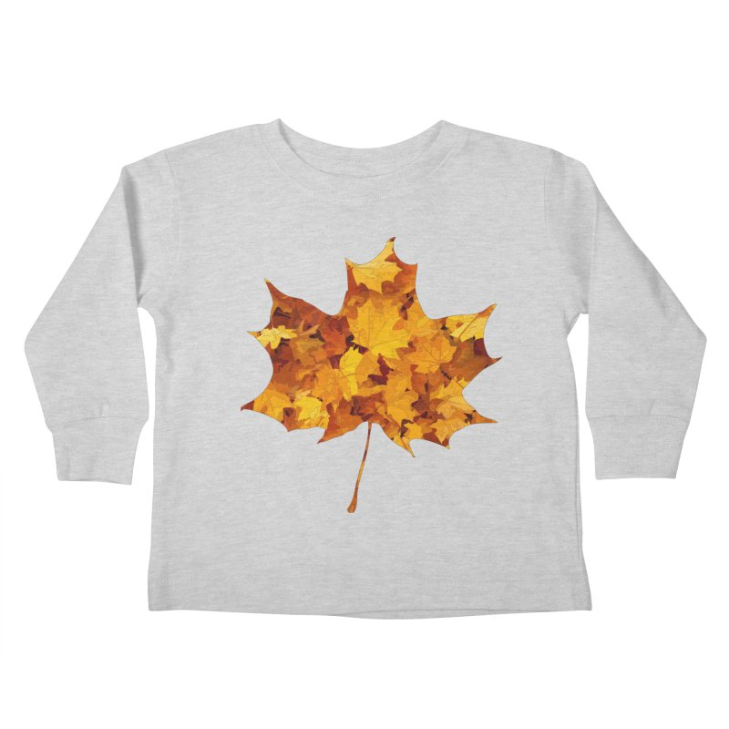 Autumn Colors Kids Toddler Longsleeve T-Shirt by Tee Panic T-Shirt Shop by Muzehack