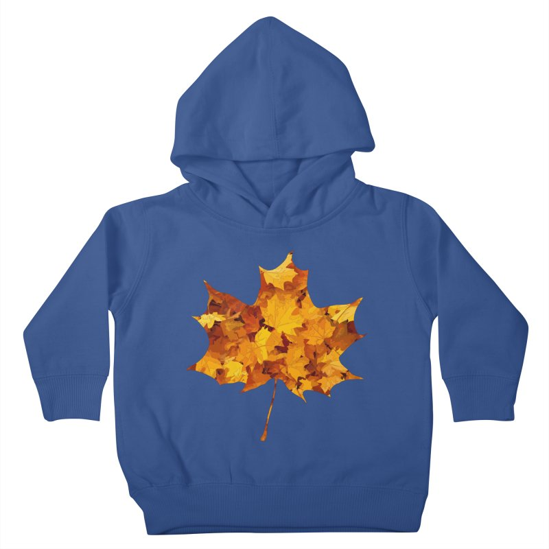 Autumn Colors Kids Toddler Pullover Hoody by Tee Panic T-Shirt Shop by Muzehack