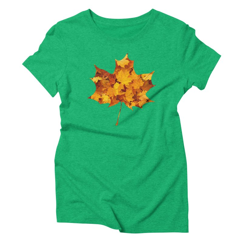 Autumn Colors Women's Triblend T-Shirt by Tee Panic T-Shirt Shop by Muzehack