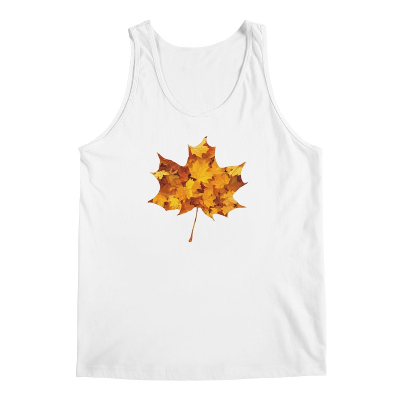 Autumn Colors Men's Regular Tank by Tee Panic T-Shirt Shop by Muzehack