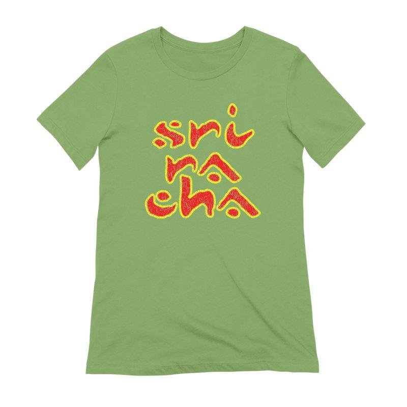 Sriracha T-shirt Women's Extra Soft T-Shirt by Tee Panic T-Shirt Shop by Muzehack