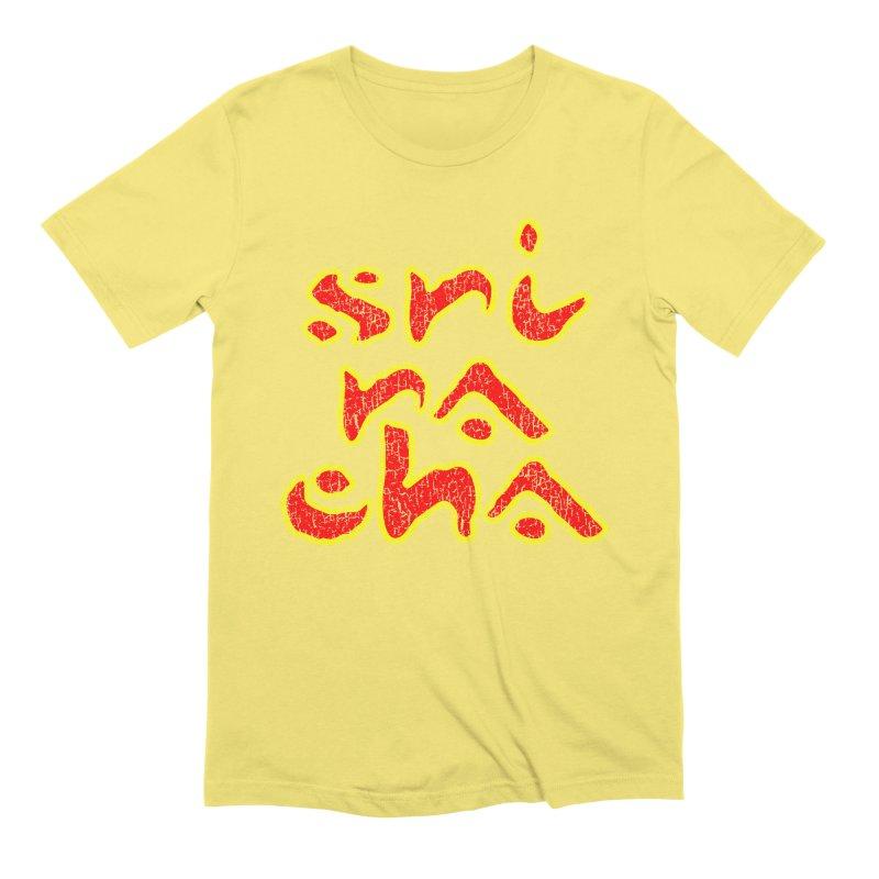 Sriracha T-shirt Men's Extra Soft T-Shirt by Tee Panic T-Shirt Shop by Muzehack
