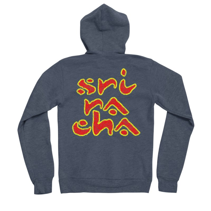 Sriracha T-shirt Women's Sponge Fleece Zip-Up Hoody by Tee Panic T-Shirt Shop by Muzehack
