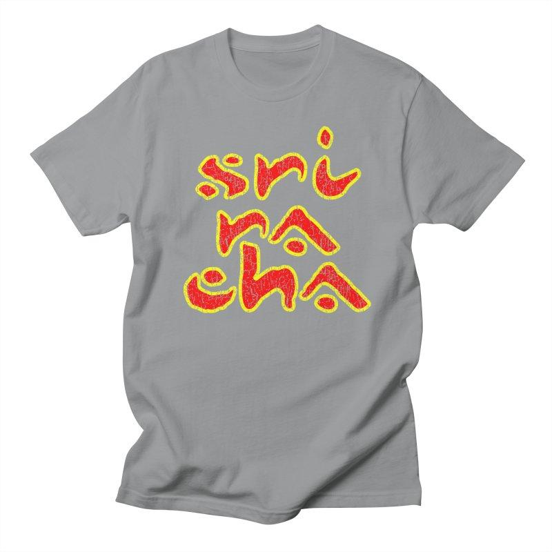 Sriracha T-shirt Men's Regular T-Shirt by Tee Panic T-Shirt Shop by Muzehack