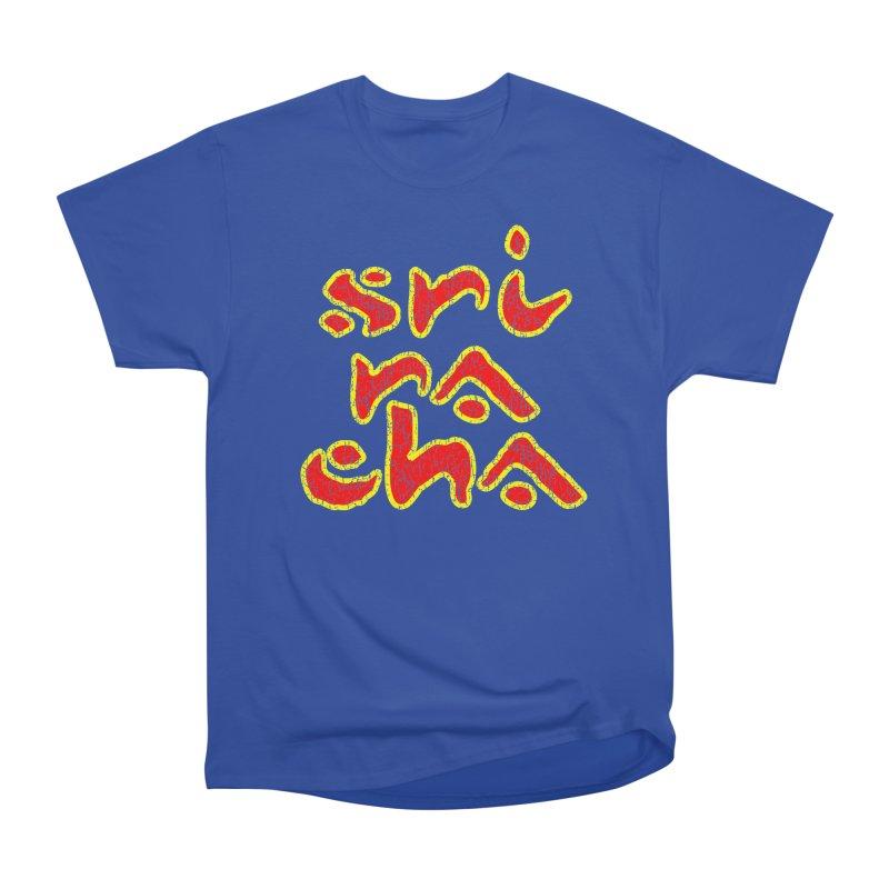 Sriracha T-shirt Men's Heavyweight T-Shirt by Tee Panic T-Shirt Shop by Muzehack