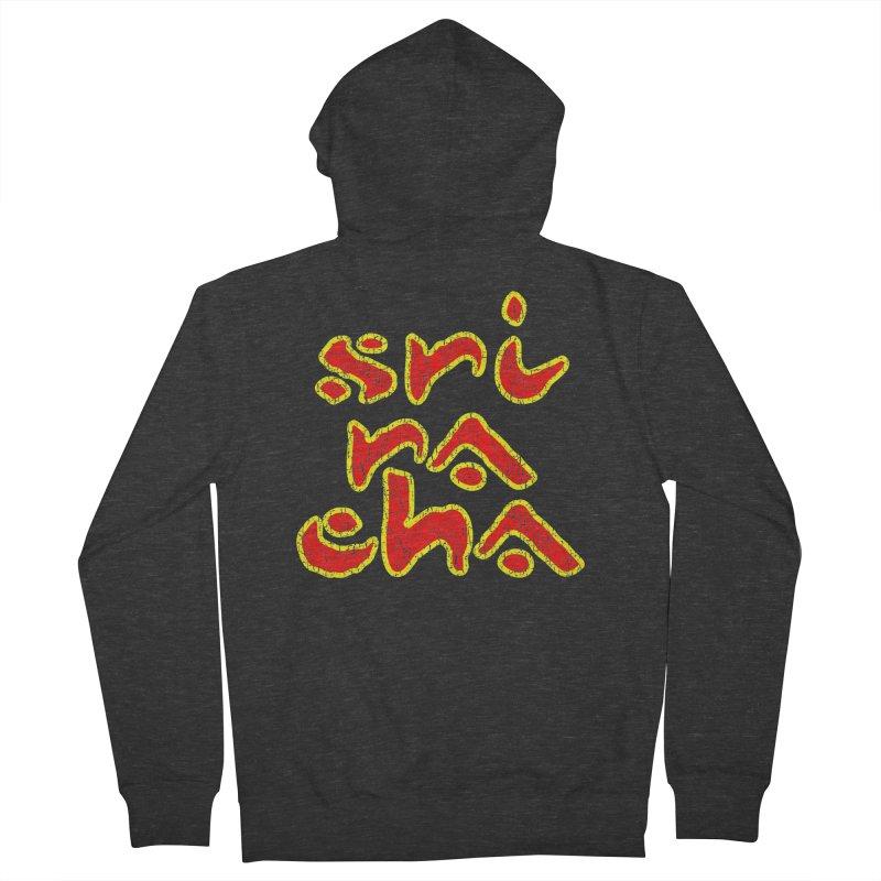 Sriracha T-shirt Women's French Terry Zip-Up Hoody by Tee Panic T-Shirt Shop by Muzehack