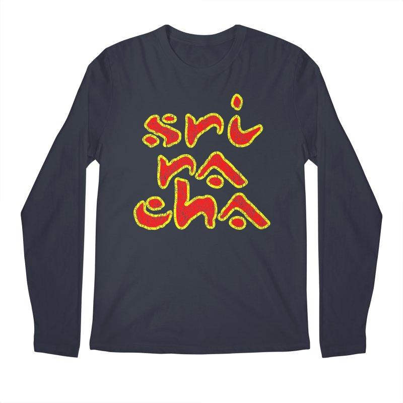 Sriracha T-shirt Men's Regular Longsleeve T-Shirt by Tee Panic T-Shirt Shop by Muzehack