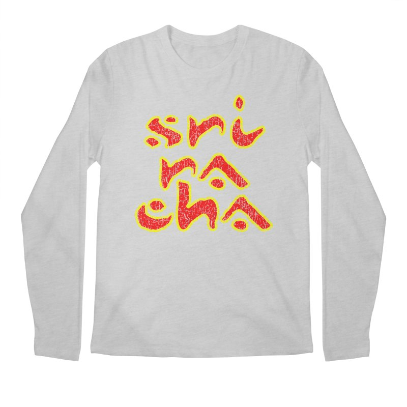 Sriracha T-shirt Men's Regular Longsleeve T-Shirt by Tee Panic T-Shirt Shop by Muzehack