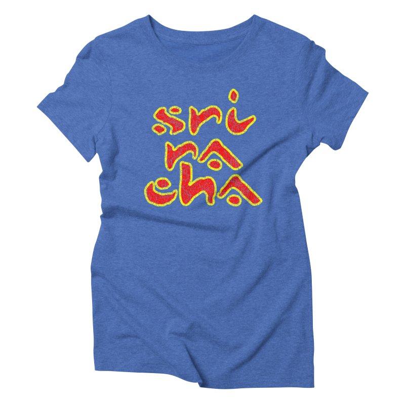 Sriracha T-shirt Women's Triblend T-Shirt by Tee Panic T-Shirt Shop by Muzehack