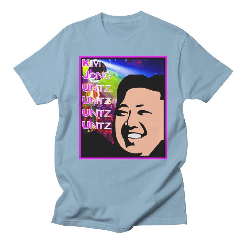 Kim Jong Untz Untz Untz Untz Women's Regular Unisex T-Shirt by Tee Panic T-Shirt Shop by Muzehack
