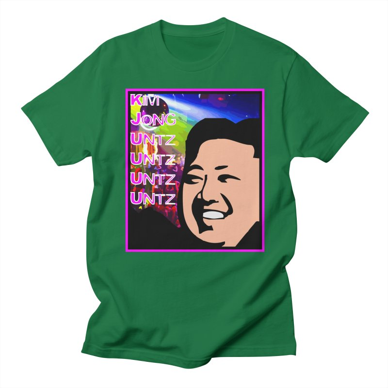 Kim Jong Untz Untz Untz Untz Men's Regular T-Shirt by Tee Panic T-Shirt Shop by Muzehack