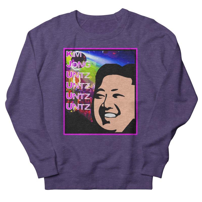 Kim Jong Untz Untz Untz Untz Women's French Terry Sweatshirt by Tee Panic T-Shirt Shop by Muzehack