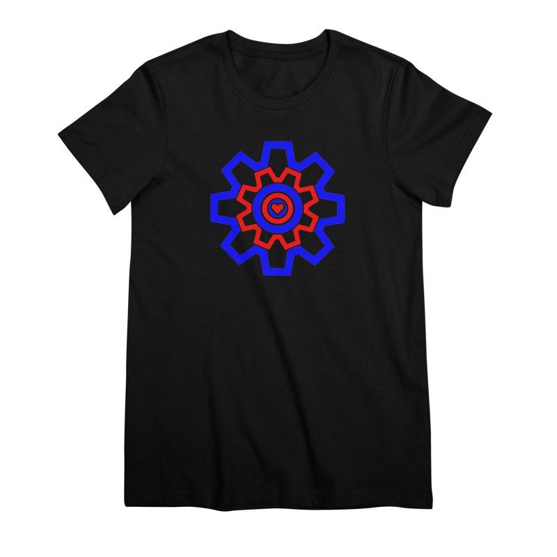Love Machine Women's Premium T-Shirt by Tee Panic T-Shirt Shop by Muzehack