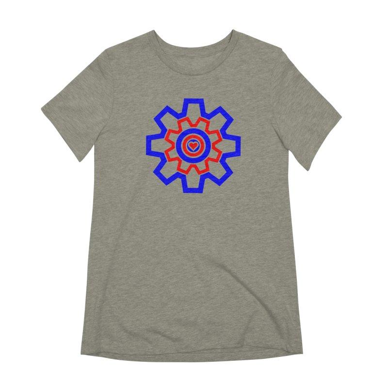 Love Machine Women's Extra Soft T-Shirt by Tee Panic T-Shirt Shop by Muzehack