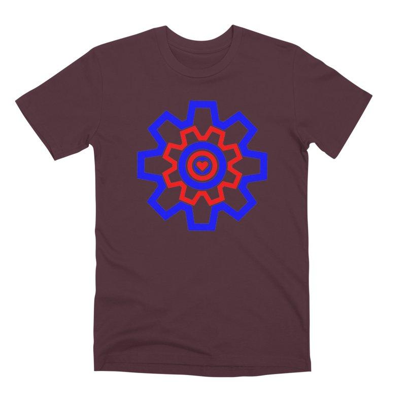 Love Machine Men's Premium T-Shirt by Tee Panic T-Shirt Shop by Muzehack