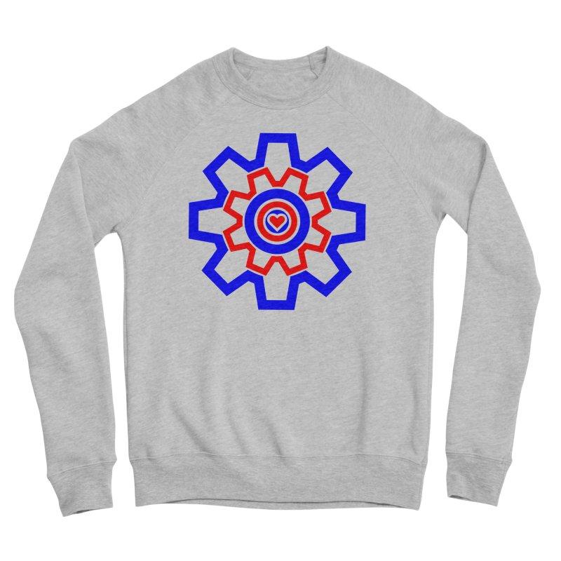 Love Machine Men's Sponge Fleece Sweatshirt by Tee Panic T-Shirt Shop by Muzehack