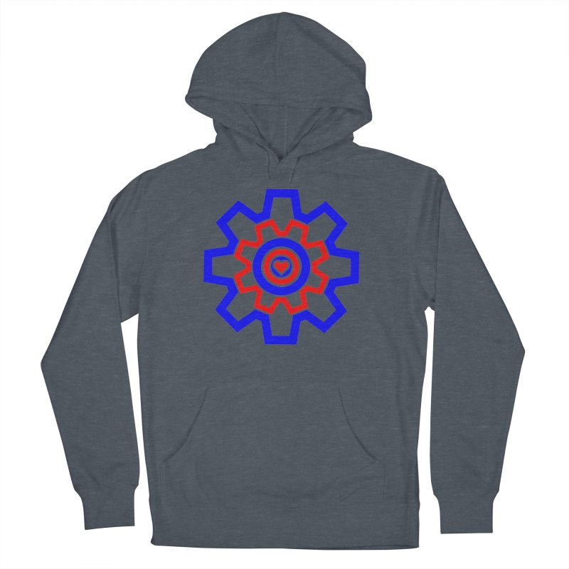 Love Machine Men's French Terry Pullover Hoody by Tee Panic T-Shirt Shop by Muzehack