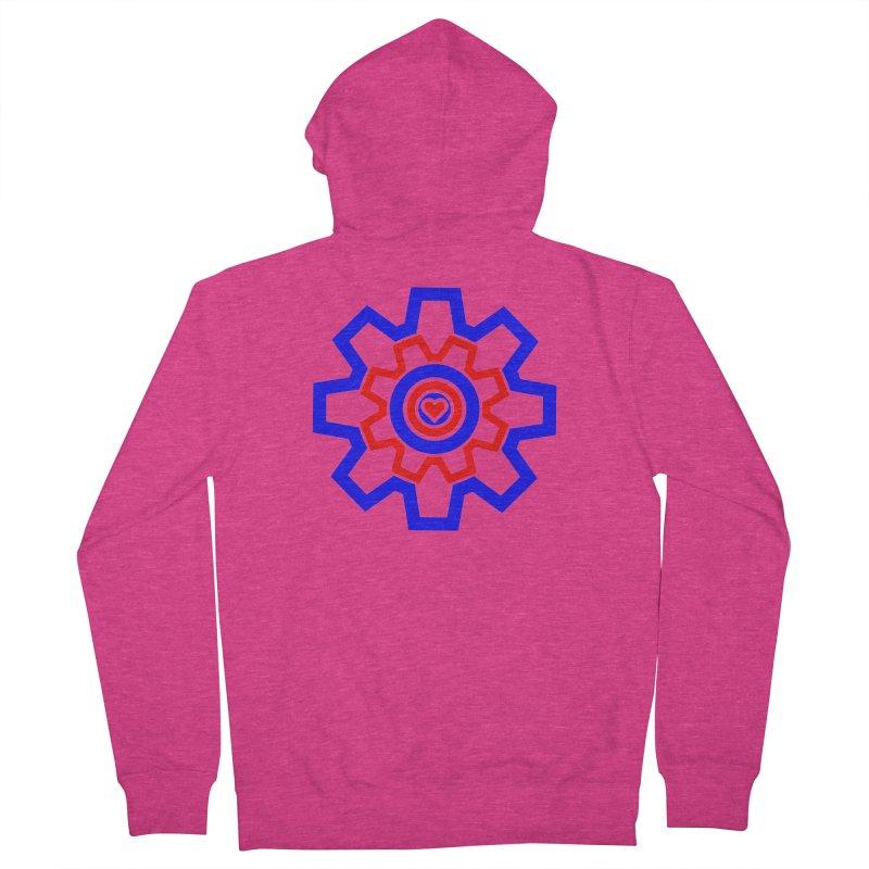 Love Machine Women's French Terry Zip-Up Hoody by Tee Panic T-Shirt Shop by Muzehack