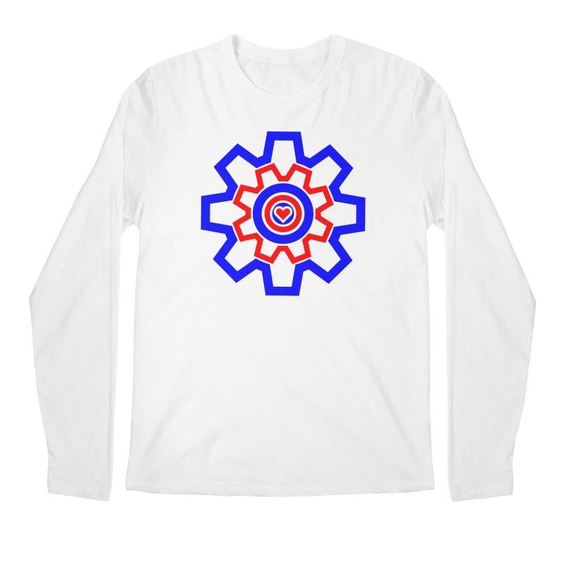 Love Machine Men's Regular Longsleeve T-Shirt by Tee Panic T-Shirt Shop by Muzehack