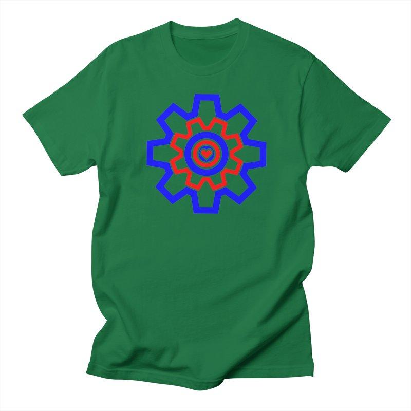 Love Machine Men's Regular T-Shirt by Tee Panic T-Shirt Shop by Muzehack