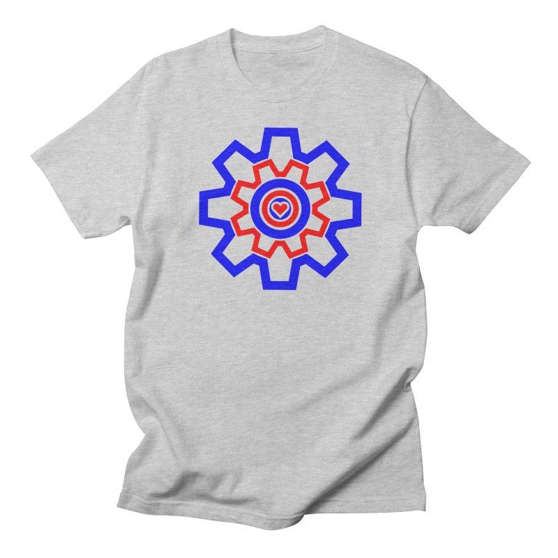 Love Machine Women's Regular Unisex T-Shirt by Tee Panic T-Shirt Shop by Muzehack