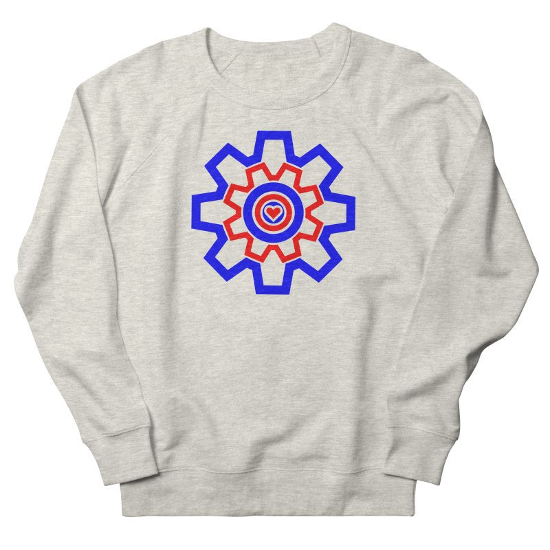 Love Machine Women's French Terry Sweatshirt by Tee Panic T-Shirt Shop by Muzehack