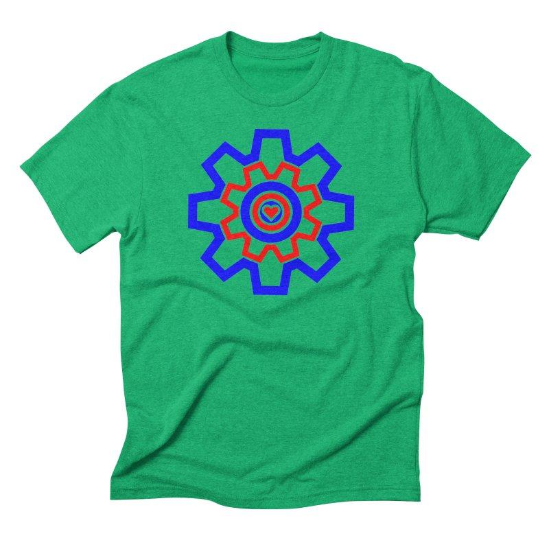 Love Machine Men's Triblend T-Shirt by Tee Panic T-Shirt Shop by Muzehack