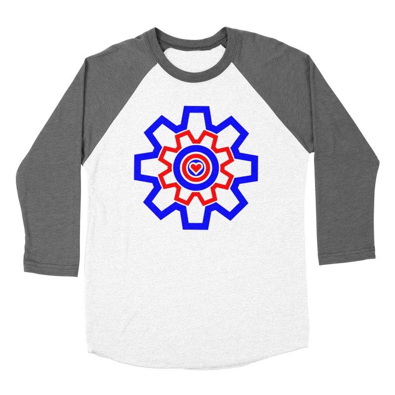 Love Machine Women's Baseball Triblend Longsleeve T-Shirt by Tee Panic T-Shirt Shop by Muzehack