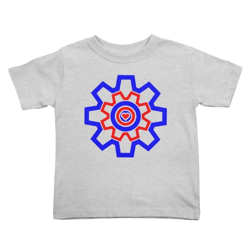 Love Machine Kids Toddler T-Shirt by Tee Panic T-Shirt Shop by Muzehack