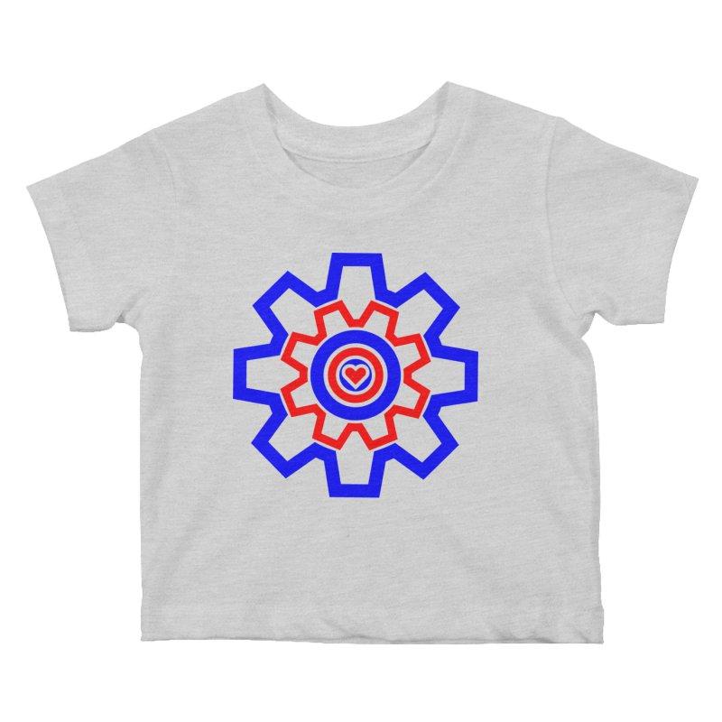Love Machine Kids Baby T-Shirt by Tee Panic T-Shirt Shop by Muzehack