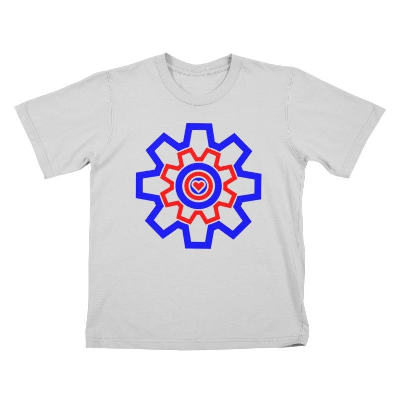 Love Machine Kids T-Shirt by Tee Panic T-Shirt Shop by Muzehack