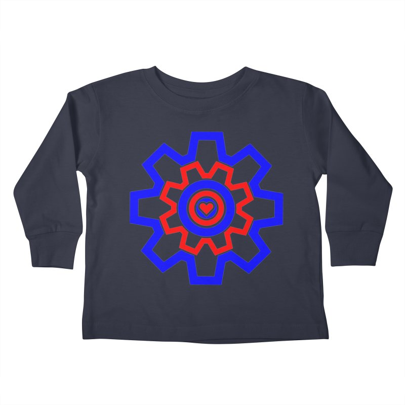 Love Machine Kids Toddler Longsleeve T-Shirt by Tee Panic T-Shirt Shop by Muzehack
