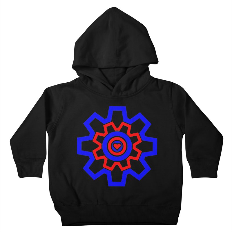 Love Machine Kids Toddler Pullover Hoody by Tee Panic T-Shirt Shop by Muzehack