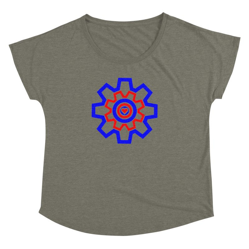 Love Machine Women's Dolman Scoop Neck by Tee Panic T-Shirt Shop by Muzehack