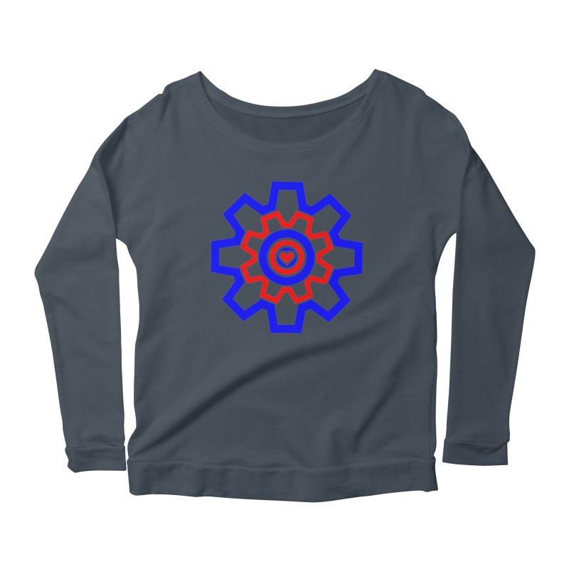 Love Machine Women's Scoop Neck Longsleeve T-Shirt by Tee Panic T-Shirt Shop by Muzehack