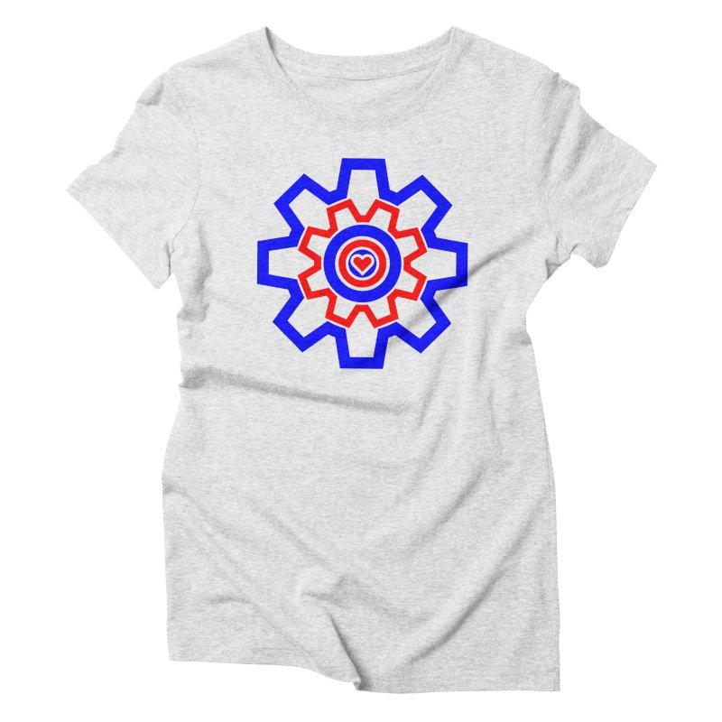 Love Machine Women's Triblend T-Shirt by Tee Panic T-Shirt Shop by Muzehack
