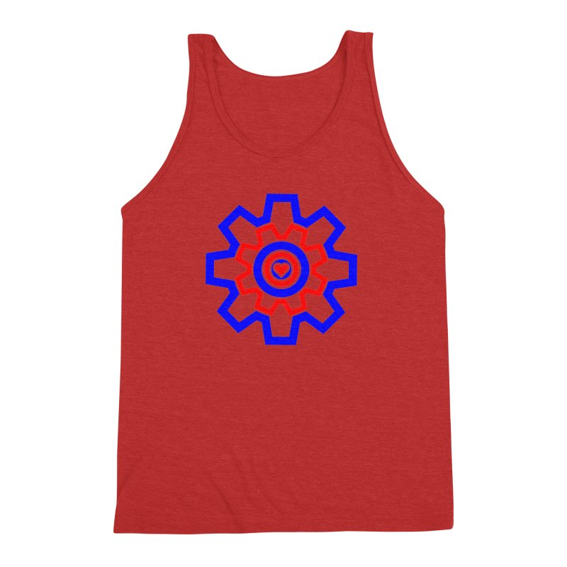 Love Machine Men's Triblend Tank by Tee Panic T-Shirt Shop by Muzehack