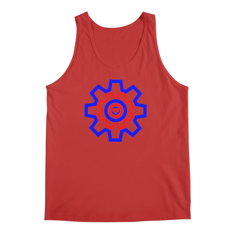 Love Machine Men's Regular Tank by Tee Panic T-Shirt Shop by Muzehack