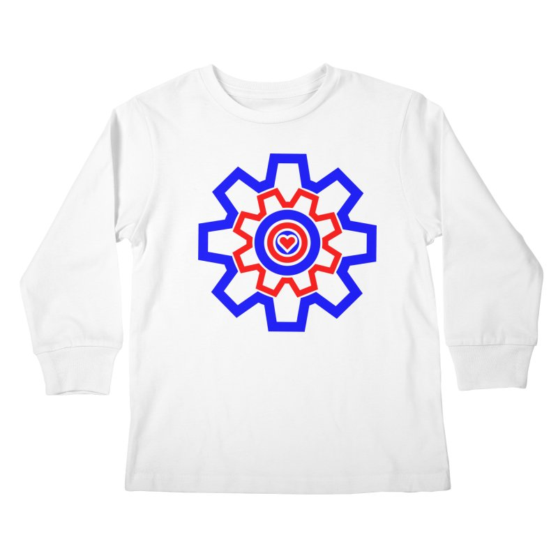 Love Machine Kids Longsleeve T-Shirt by Tee Panic T-Shirt Shop by Muzehack